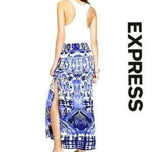 🆕Express Tribal Print Maxi Skirt